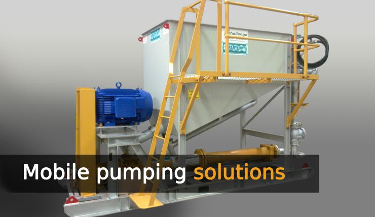 Dewatering Pumps, Mine dewatering, Mining pumps, Mono Pumps, helical